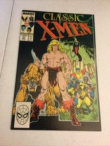 Classic X-Men 21 Nm Near Mint Marvel Comics