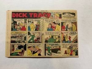 Dick Tracy Newspaper Comics Sundays 1952 Complete Year 52 Total Great Shape!
