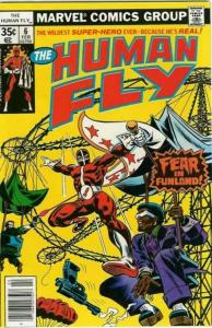 Human Fly (1977 series) #6, VF (Stock photo)