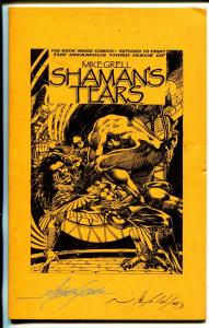 Shaman's Tears Ashcan Edition #3 1993-signed by Mike Grell & Mike Gold-VF-