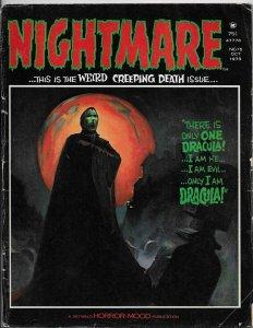 Nightmare Magazine #15 Dracula | Ken Kelly | Rich Buckler (Skywald, 1973) VG