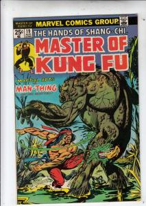 Master of Kung Fu, the Hands of Shang-Chi #19 (Aug-74) NM Super-High-Grade Sh...