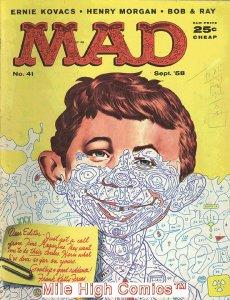 MAD (MAGAZINE) #41 Very Good