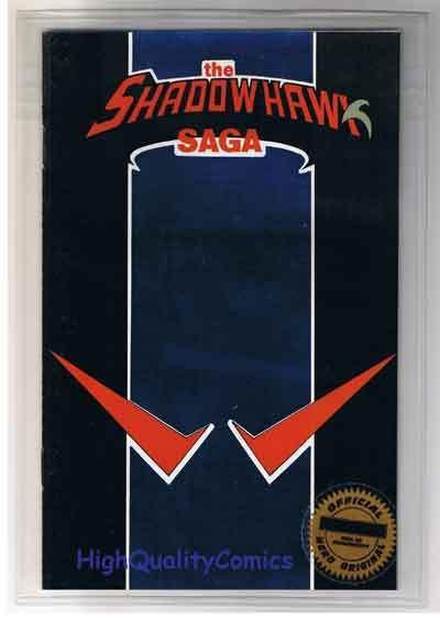SHADOWHAWK SAGA ashcan Limited, still sealed, NM