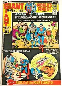 WORLDS FINEST#206 FN 1971 DC BRONZE AGE COMICS