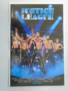 Justice League #40 B Movie Poster Variant 8.0 VF (2015)