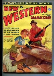 NEW WESTERN-JULY 1936-VIOLENT PULP FICTION-GUNPLAY-good