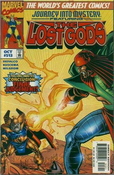 Journey Into Mystery (1996 series) #513, NM (Stock photo)
