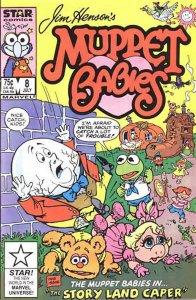 Muppet Babies (Star/Marvel) #8 VG; Marvel Star   low grade comic - save on shipp
