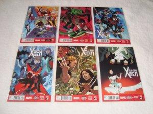 LOT OF 25 MODERN X-MEN COMICS