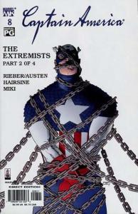 Captain America (2002 series) #8, NM- (Stock photo)