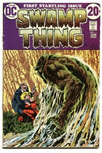 SWAMP THING #1 First issue-Key-DC Comic Book 1972 VG
