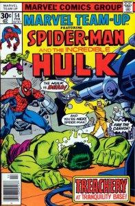 Marvel Team-Up #54 (ungraded) stock photo