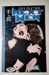 John Byrne's Next Men #9 (1992) Dark Horse Comic Book J756