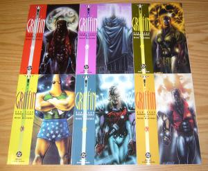 the Griffin vol. 2 #1-6 VF/NM complete series - dc comics - matt wagner set 1991