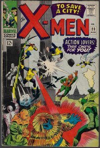 X-men #23 (Marvel, 1966) VG/F