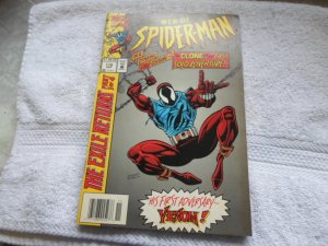 1994 MARVEL COMICS WEB OF SPIDERMAN # 118