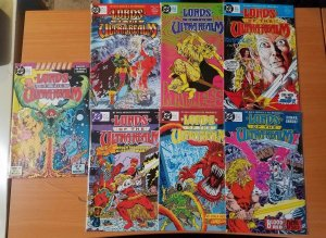Lords of the Ultra Realms 1-6 + Special Complete Set Run! ~ NEAR MINT NM ~ 1986