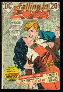 FALLING IN LOVE #136 1972-DC ROMANCE COMICS-20 CENT ISS VG