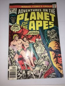 Planet of the Apes #9 Marvel Comics Group