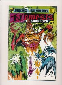 Eagle Comics LOT OF 5 NEMESIS The Warlock #1,2,4,5,6 VERY FINE/NEAR MINT (HX803)