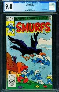 Smurfs #2 CGC 9.8 1982- Marvel Comics 2038908006