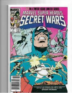 MARVEL SUPER HEROES SECRET WARS #7 VF/NM - 1ST APP JULIA CARPENTER SPIDER-WOMAN