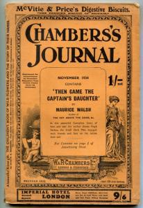 Chambers's Journal November 1934- Then Came the Captain's Daughter