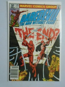 Daredevil The Man Without Fear #175 Newsstand Edition 4.0 VG (1981)