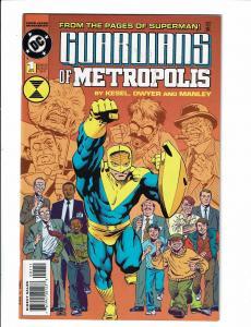 5 DC Comic Books 2 Guardians of Metropolis Sgt. Rock Annual JSA Ambush Bug TW40