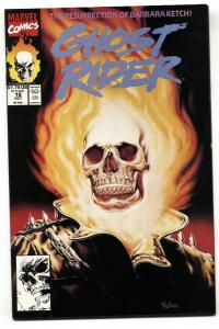 Ghost Rider #18 1991-comic book-Great cover! Marvel