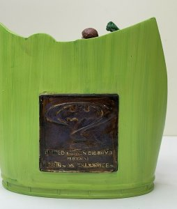 Batman Forever:Robin vsTwo Face on CLAW island Statue~1995 by Applause~MIB