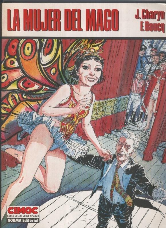 Cimoc Extra Color numero 033/034: La mujer del mago