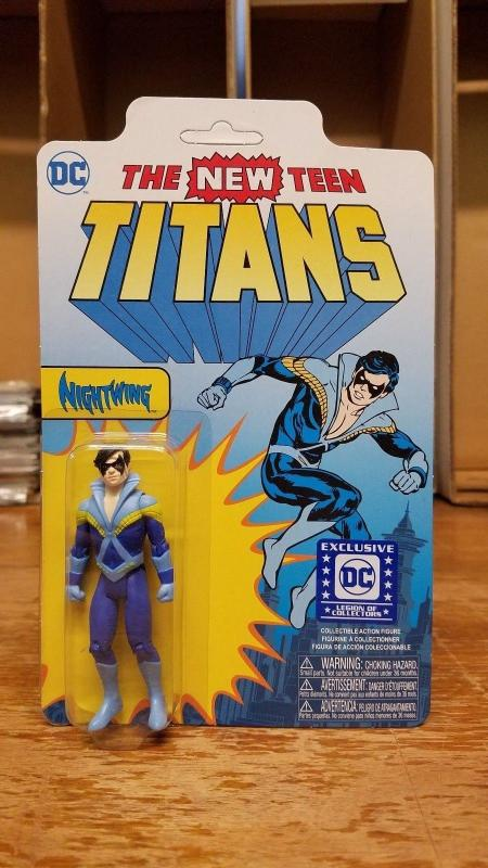 Nightwing Collectible Figure DC LEGION OF COLLECTORS EXCL New Titans Funko TB1