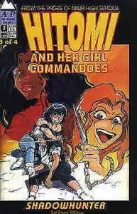 Hitomi and Her Girl Commandos #3 VG; Antarctic | low grade comic - save on shipp