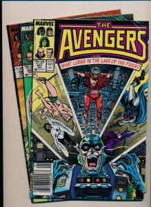 Marvel Comics THE AVENGERS Lot of 3 #287,288,292  FINE/VERY FINE (HX717)