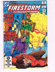 The Fury Of Firestorm The Nuclear Man #14 VF DC Comic Book DE7