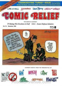 Comic Relief (magazine) #18 FN; Page One | save on shipping - details inside