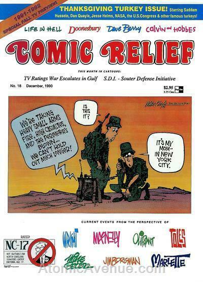 Comic Relief (magazine) #18 FN; Page One   save on shipping - details inside
