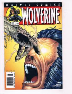 Wolverine #165 VF Marvel Comics Comic Book Tieri X Men 2001 DE24