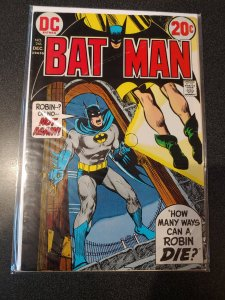 Batman 246 Scarecrow Neal Adams cover VF