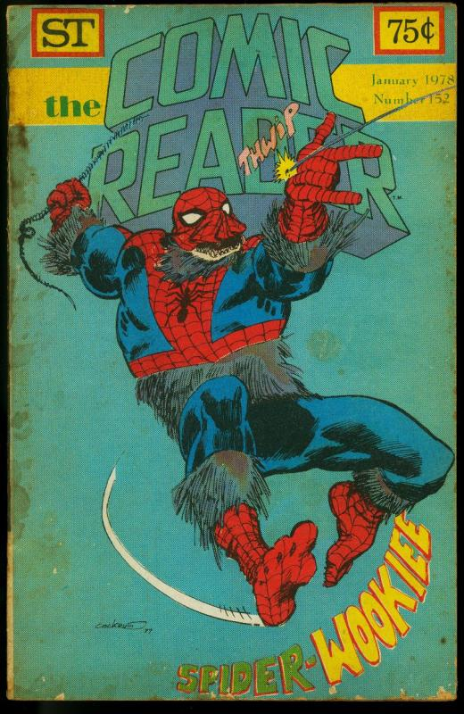 The Comic Reader Fanzine #152 1978-  Spider-Wookie cover G