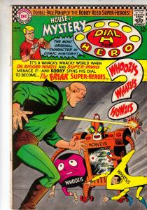 House of Mystery #165 (Mar-67) FN- Mid-Grade Martian Manhunter, Dial H. for H...