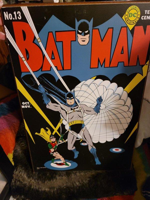 Batman #13 (1942) cover art decor