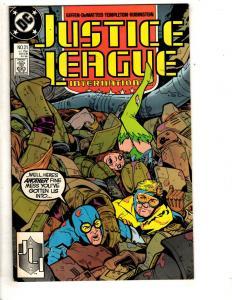 10 Justice League Comics International 21 24 25 15 3 America 27 32 Europe + J313