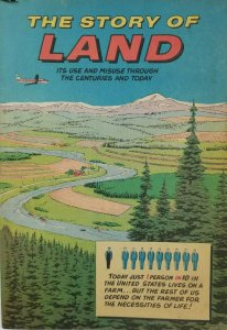 The Story of Land Comic 196 VG/VG+ Soil Conservation Society - Ankeny Iowa