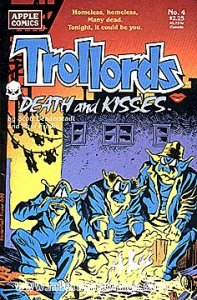 TROLLORDS: DEATH AND KISSES #4 Very Fine Comics Book