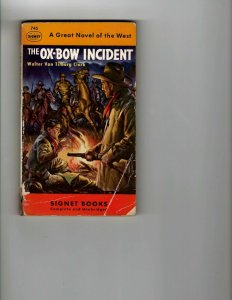 3 Books The Ox-Bow Incident The Man Who Said No Officers' Plot to Kill JK10