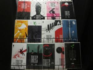 TREES (2014 IM) 1-14 Warren Ellis & J. Howard  COMPLETE COMICS BOOK