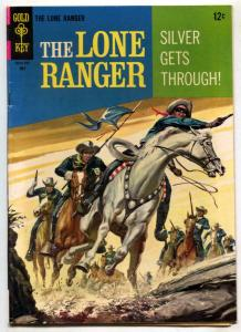 The Lone Ranger #7 1967- Gold Key comic FN